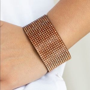 NEW! Paparazzi Fade Out Brown Bracelet
